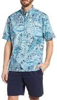 Reyn Spooner Deep Water Classic Fit Polo