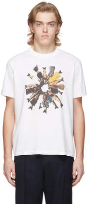 Our Legacy White Fishes In Suits New Box T-Shirt
