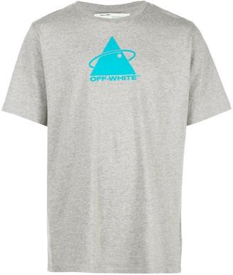 Off-White triangle planet logo T-shirt