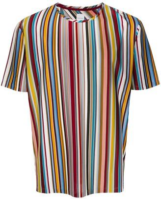 Paul Smith striped cotton crew-neck T-shirt