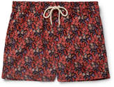 Atalaye Helianthe Short-Length Printed Swim Shorts