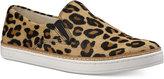 UGG Women's Keile Calf-Hair Leopard-Print Slip-On Sneakers