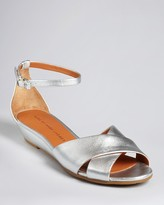 Marc by Marc Jacobs Metallic Demi Wedge Sandals