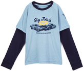 Lucky Brand Dusty Blue Tee - Toddler & Boys