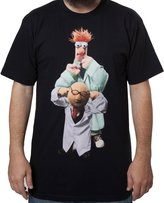 Mighty Fine Men's Muppets Bunsen and Beaker t-shirt 2XL