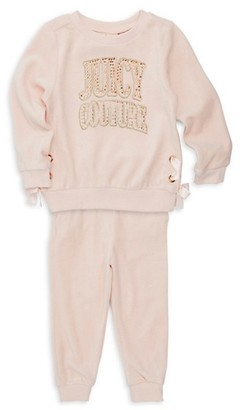 Juicy Couture Girl's 2-Piece Sweater Pants Set
