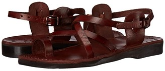 Jerusalem Sandals The Good Shepherd Buckle - Womens (Brown) Women's Shoes