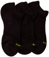 Hue Air Cushion No-Show Socks - Pack of 3