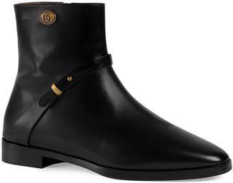 Gucci Rosie 15mm Leather Booties