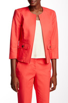 Vince Camuto Kiss Front Crop Jacket