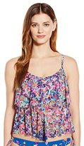 Kenneth Cole Reaction Women's Don't Mesh with Me Tiered Tankini