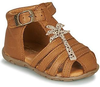GBB ANAYA girls's Sandals in Brown