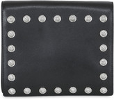 Versus Studded Saffiano Leather Clutch