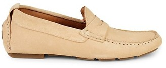 Nettleton Grand Prix Suede Penny Loafers