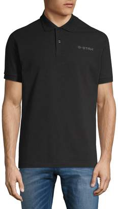 G Star Raw Short-Sleeve Stretch Polo