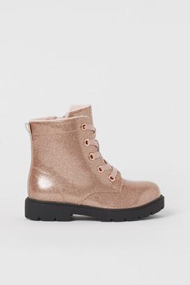 H&M Patent Boots