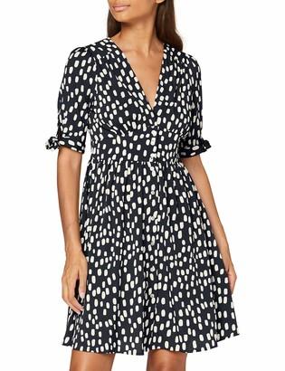 Vero Moda Women's VMDANIELLA 2/4 Short Dress WVN DA GA Casual