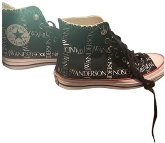 Converse X J.w Anderson Black Cloth Trainers