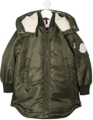 Moncler Enfant Zip-Up Padded Jacket