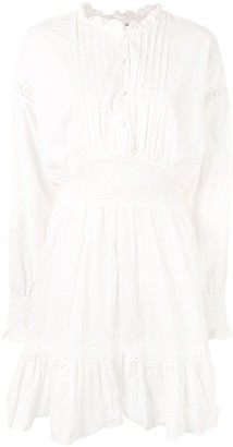 Designers Remix Pleated Bib Mini Dress