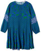 Stella McCartney blue ellie paisley dress