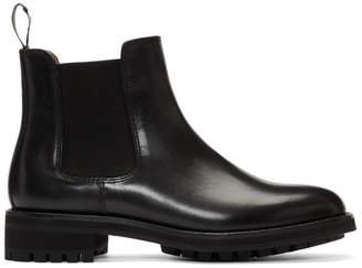 Polo Ralph Lauren Black Bryson Chelsea Boots