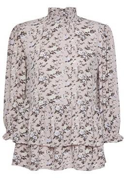 Dorothy Perkins Womens Lilac Floral Print Top