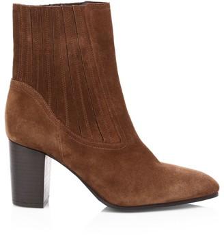 Aquatalia Fayren Suede Ankle Boots