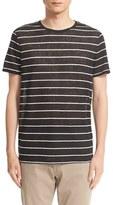 Onia Men's 'Chad' Stripe Linen T-Shirt