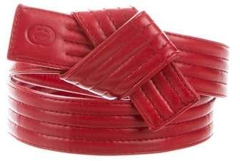 Gucci Knotted Waist Belt