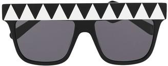 Stella McCartney Geometric Pattern Sunglasses
