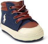 Ralph Lauren Geffron Mid Canvas Sneaker