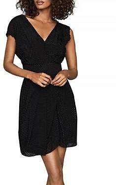 Reiss Leonora Textured Mini Dress