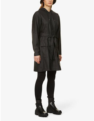 Rains Belted shell jacket