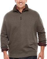 Van Heusen Modern Quarter-Zip Knit Sweater - Big & Tall