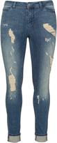Junarose Plus Size Distressed effect jeans