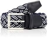 Barneys New York Men's Braided Belt