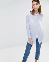 Selected Crissie Long Sleeve Stripe Shirt