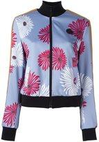 MSGM floral print bomber jacket - women - Polyester/Polyamide/Spandex/Elastane - 42