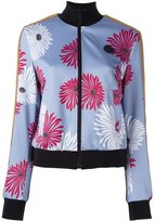 MSGM floral print bomber jacket