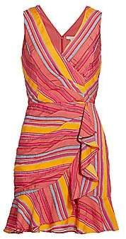 Parker Women's Shella Striped Ruffle Dress