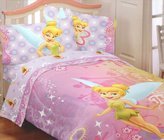 Disney Tinkerbell Whimsy 3pc Bed Sheet Set