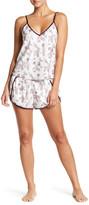 Shimera Satin Shortie Pajama Set