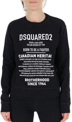 DSQUARED2 Canadian Heritage Print Sweater
