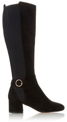 Roberto Vianni Solice Black Low Block Heel Boots