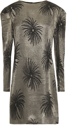 Victoria Victoria Beckham Lame-jacquard Mini Dress