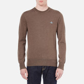 Vivienne Westwood Man Classic Roundneck Knitted Jumper Beige
