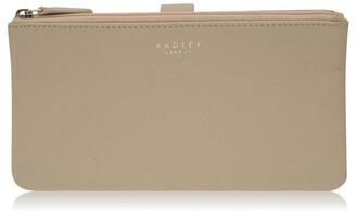 Radley Larks wood large tab matinee purse