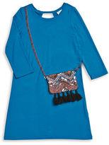 Jessica Simpson Girls 7-16 Sequin Purse Shirtdress