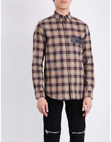 Givenchy Checked Contemporary-fit Cotton Shirt